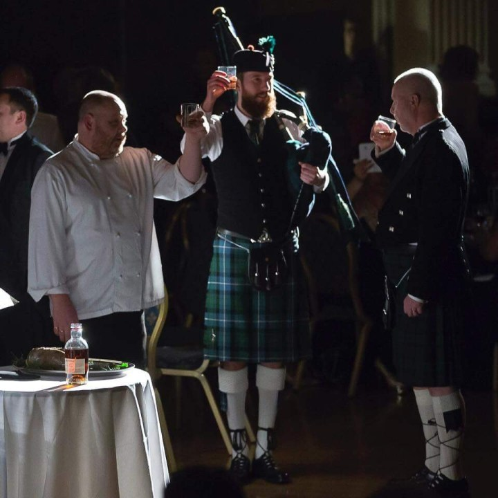 Matthew McRae - Hire a Burns' supper bagpiper
