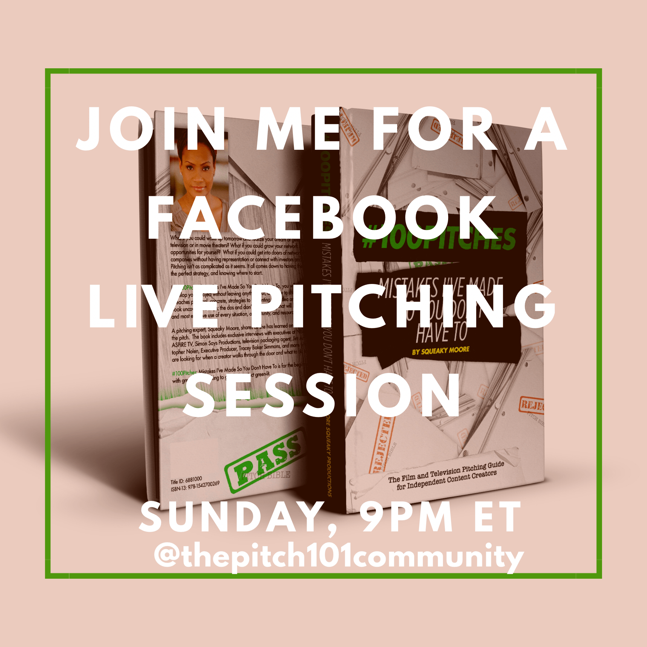 Facebook LIVE Pitching Session