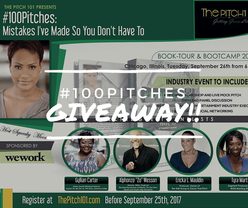 Announcing the #100Pitches Giveaway #1