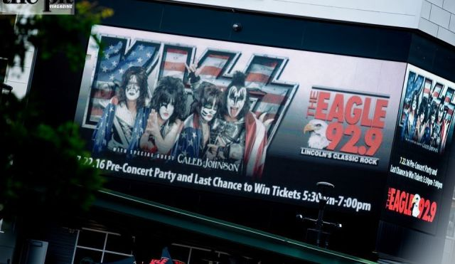 The Pit Magazine, Christopher Tierney Photography, KISS, Caleb Johnson, Pinnacle Bank Arena, Lincoln, Nebraska