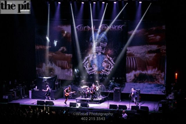 The Pit Magazine, Winsel Concertography, Suicidal Tendencies, Dystopia World Tour 2016, Mid-America Center, Council Bluffs, Iowa