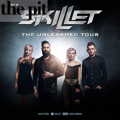 Skillet Announce the Second U.S. Leg of The Unleashed Tour