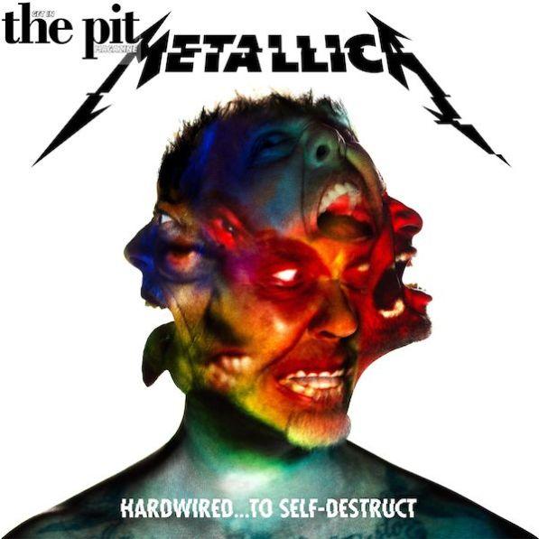 The Pit Magazine, Metallic, Hard Wired to Self Destruct, Album Art, 2017 Tour