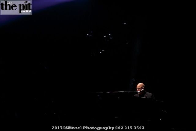 The Pit Magazine, Winsel Photography, Winsel Concertography, Billy Joel, Piano Man, Pinnacle Bank Arena, Lincoln, Nebraska