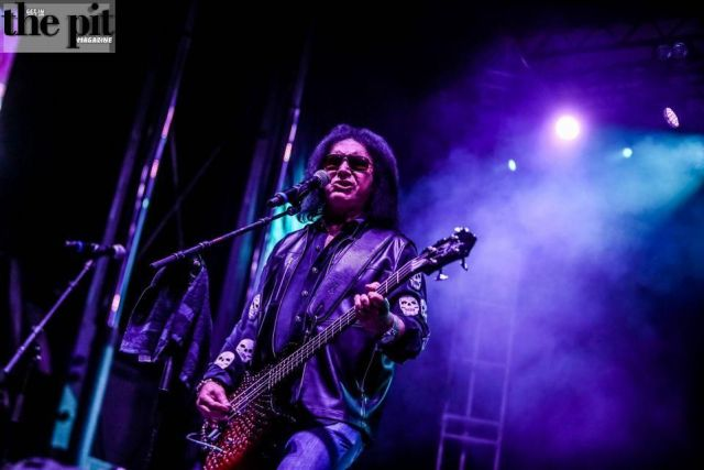 The Pit Magazine, Bob DeHart Photography, Gene Simmons, Ace Frehley, KISS Reunion, Hurricane Harvey Benefit, St Paul, MN