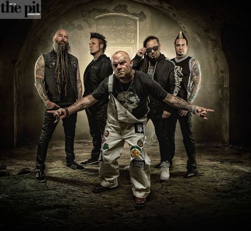 "Five Finger Death Punch: Premiere Video For ""Sham Pain,"""