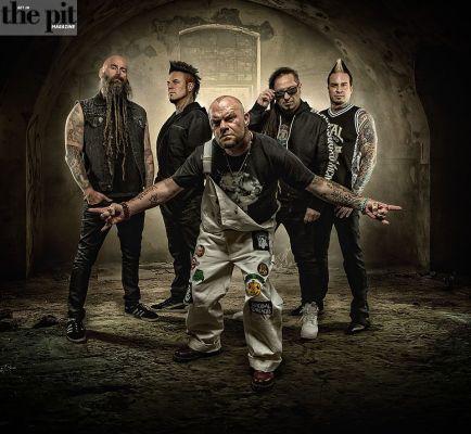 """Five Finger Death Punch: Premiere Video For """"Sham Pain,"""""""