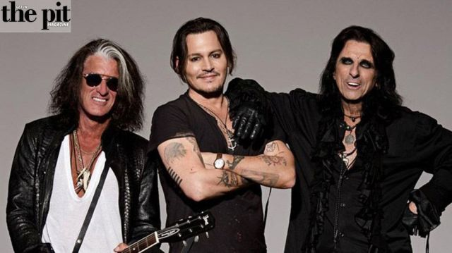 The Pit Magazine, Hollywood Vampires, Joe Perry, Johnny Depp, Alice Cooper, Rise, Record Release
