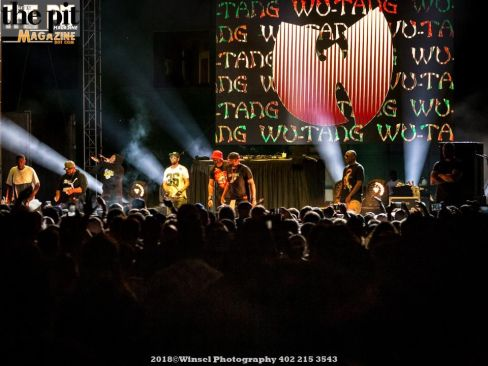 Wu Tang Clan – Council Bluffs Iowa – 8.1.19