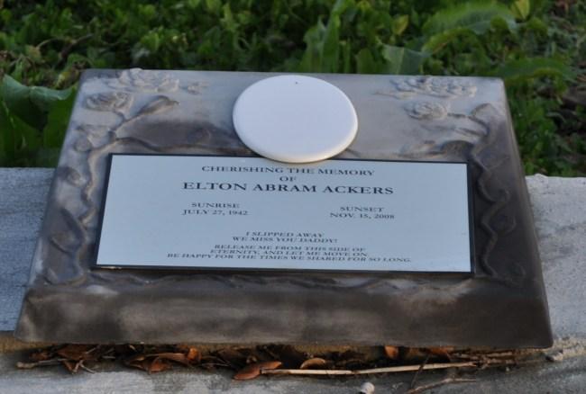 Holt- Elton Abram Ackers- I slipped away