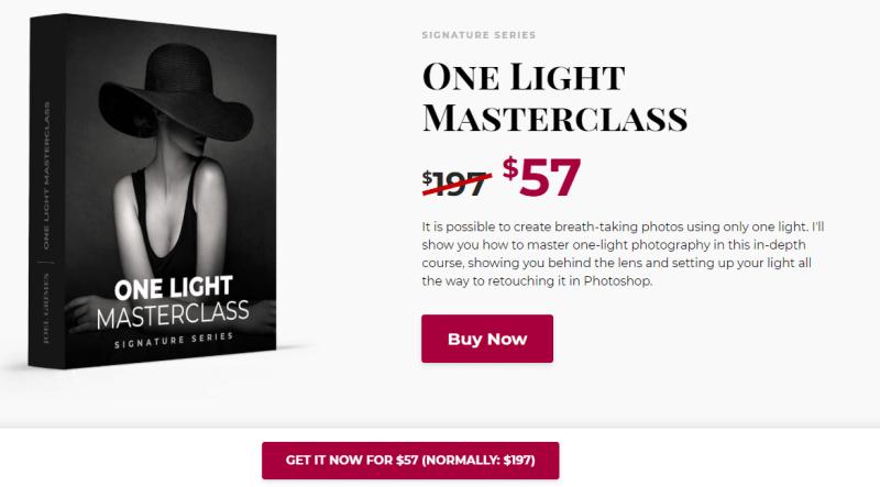 one Light Master Class Joel Grimes