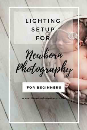 Newborn Photography Lighting Setup Pinterest