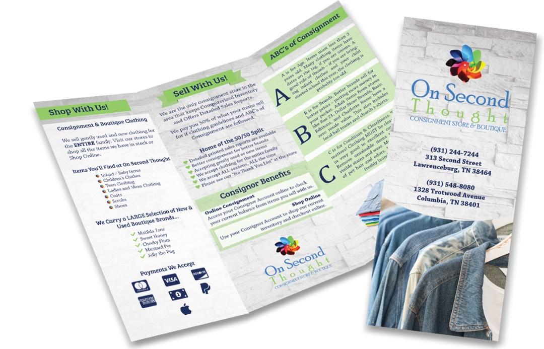 The Pixel Pantry - Brochure Graphic Design