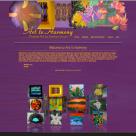 Art to Harmony Website Design