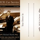 Business Cards for a Limo Car Service