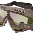 Illustration of Military Goggles with Monocle Display