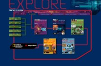 Class Project: National Geographic Explore Book Series Web Portal
