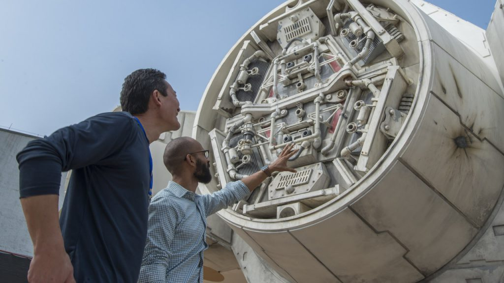 Check out the Flyover of Star Wars: Galaxy's Edge