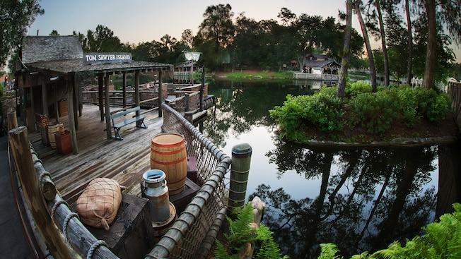 Tom Sawyer Island at Magic Kingdom