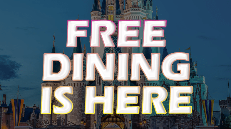 Free Disney Dining Released Today