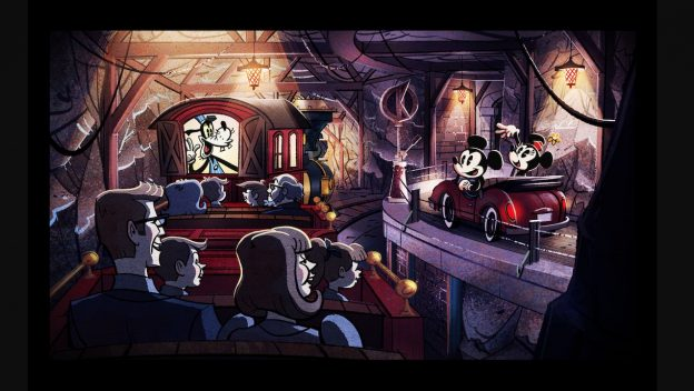 First Look: Mickey & Minnie's Runaway Railway Ride