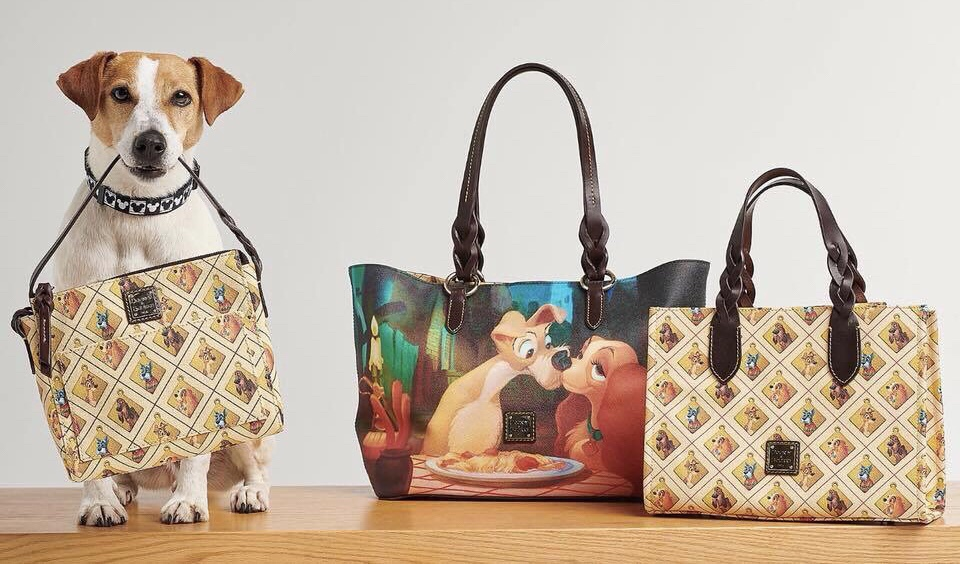 Dooney and Bourke brings us more Disney Dogs with Lady and the Tramp