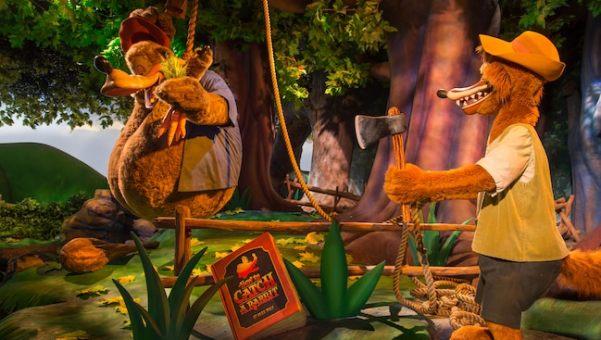 Splash Mountain at Disney's Magic Kingdom