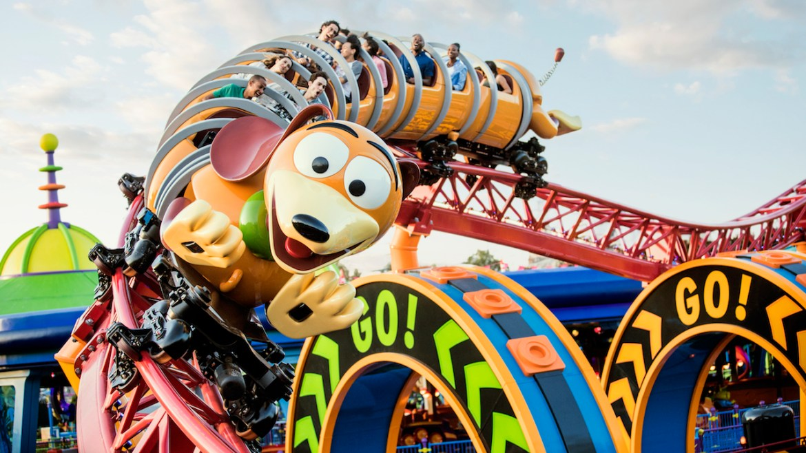 Ride Slinky Dog Dash Before the Park Opens with Early Morning Magic