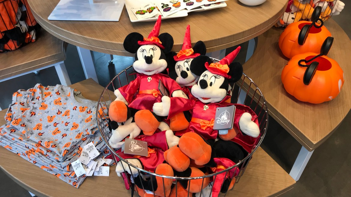 Delightfully Spooky Halloween Merchandise Hits Walt Disney World