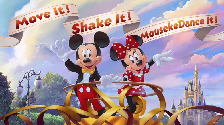 Move It! Shake It! MousekeDance It! Street Party Comes to Magic Kingdom