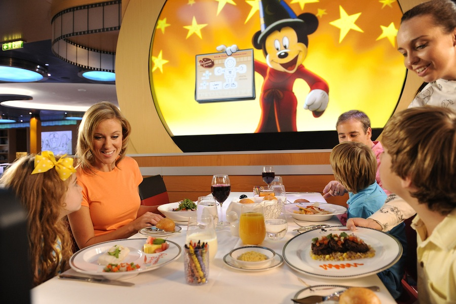 Animation Magic on the Disney Fantasy