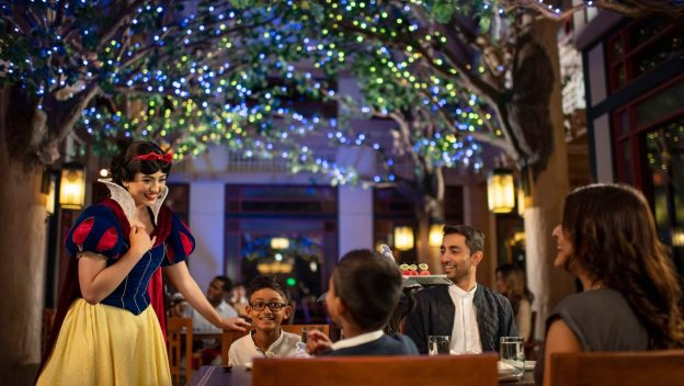 Storybook Dining with Snow White and Evil Queen Now Open