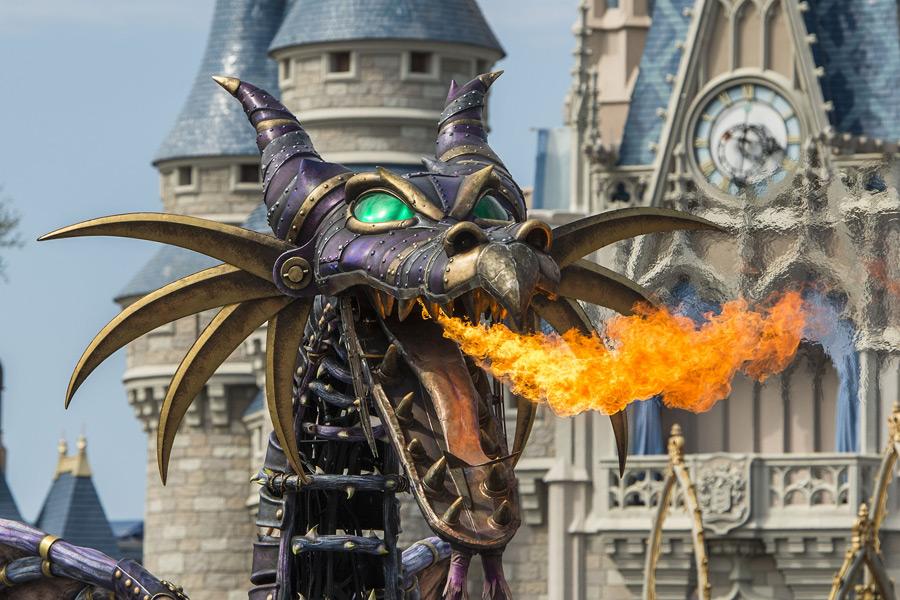 Maleficent Returns to Festival of Fantasy Parade