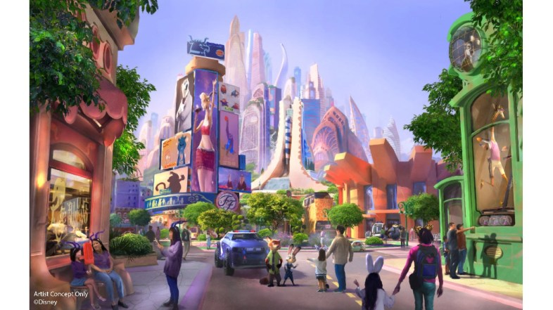 Zootopia Themed Land Coming to Shanghai Disney