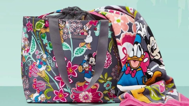 Vera Bradley Debuts Tomorrow in Two New Magical Disney Collections