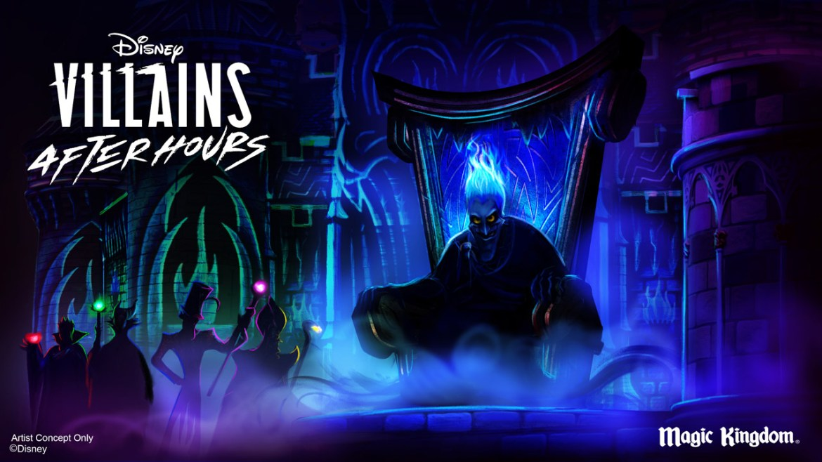BREAKING: Villains After Hours Event Coming Soon to Magic Kingdom