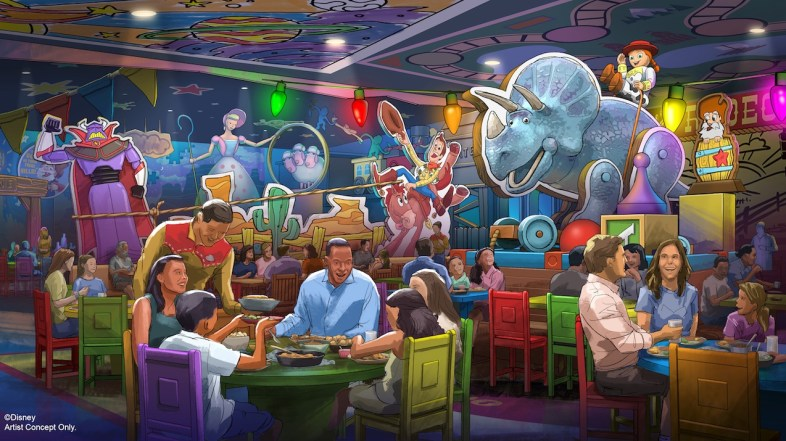 New Roundup Rodeo BBQ Restaurant Coming to Toy Story Land at Disney's Hollywood Studios