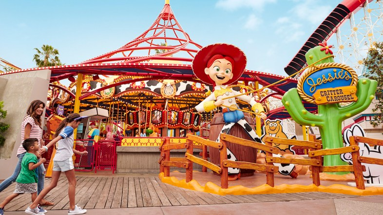 Enter Pixar Pier Rootin' Tootin' Sweepstakes for a Chance to Win a Disneyland Resort Vacation