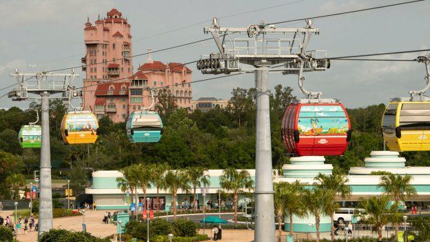 Disney Skyliner will take Flight on September 29, 2019 at Walt Disney World Resort