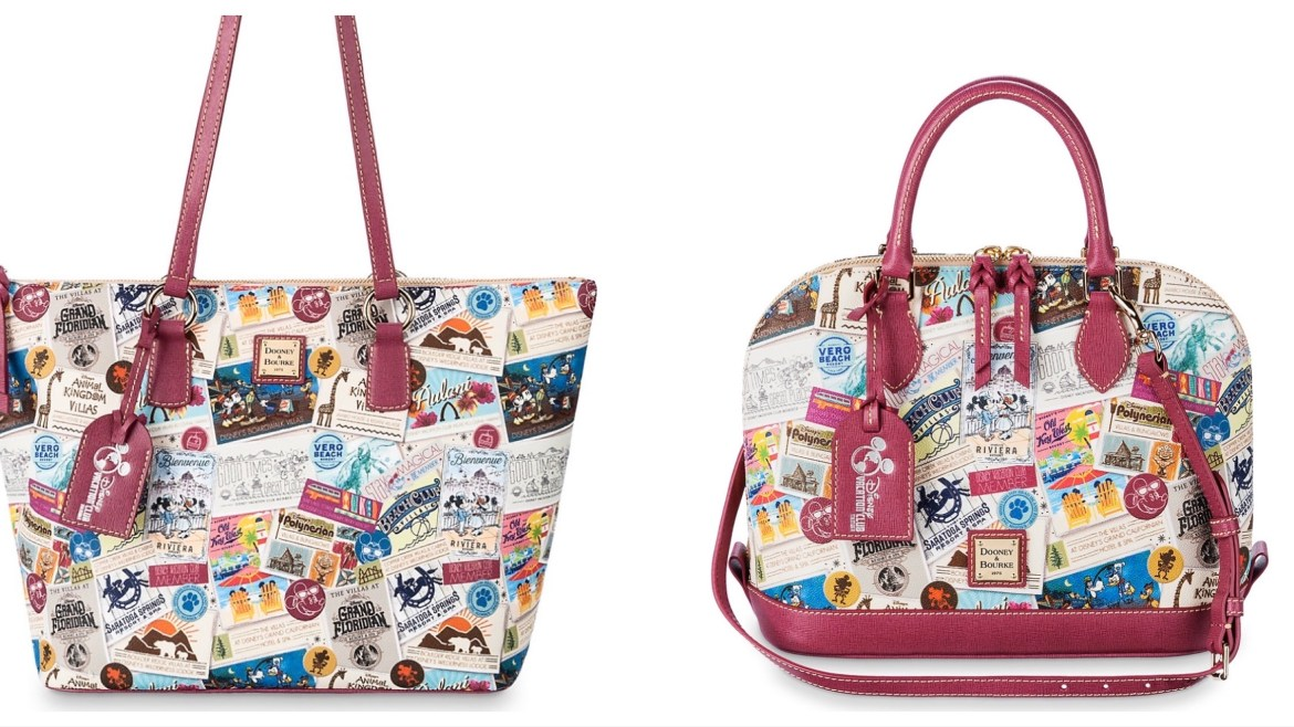 New Disney Vacation Club Dooney and Bourke Releases