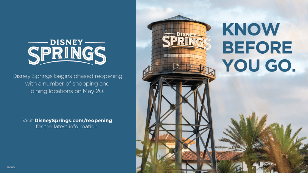 BREAKING: Final Requirements Released on Disney Springs Opening: Including Masks for ALL