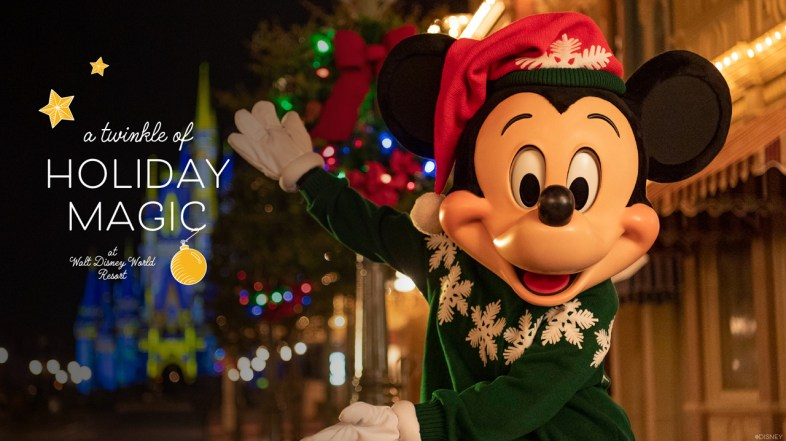 What to expect this Holiday Season at Walt Disney World