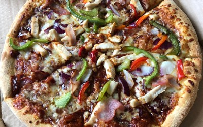 Texas BBQ Pizza from Domino's