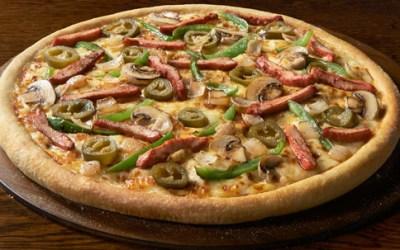 Tandoori Hot Pizza from Domino's