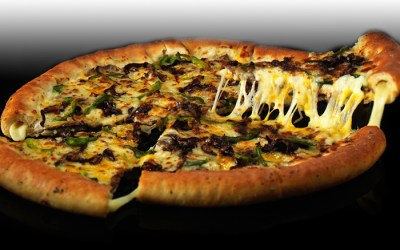 Philly Cheese Steak Pizza from Pizza Hut