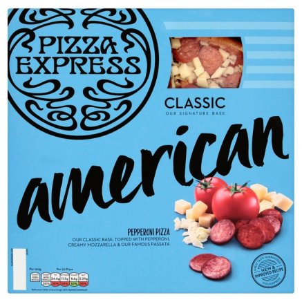 American Supermarket Pizza Review, American Pizza Express