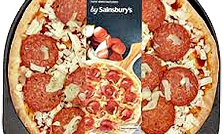 Stonebaked Pepperoni Pizza from Sainsbury's