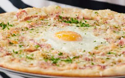 Carbonara Pizza from Pizza Express