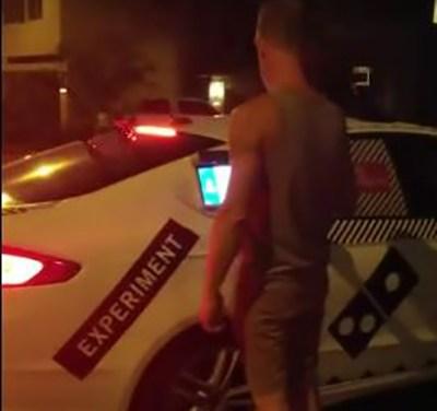 Domino's Self Driving Car Pizza Delivery Service
