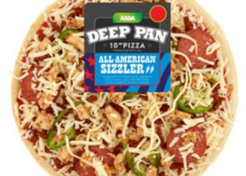 American Sizzler Pizza from ASDA